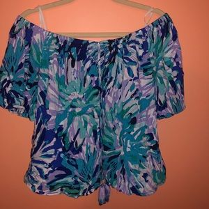 Lilly Pulitzer Tops - Lilly Pulitzer off the shoulder top